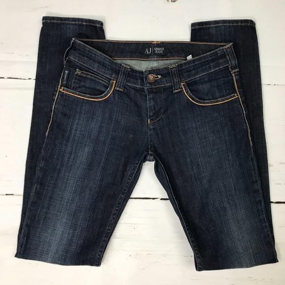 c0563a543d4 Armani Jeans Denim - Armani Jeans AJ 25 J44 Skinny Leg Medium Wash